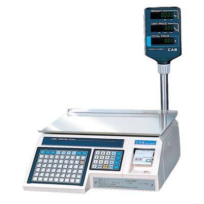 Электронные весы с печатью этикетки CAS LP-R 1.6